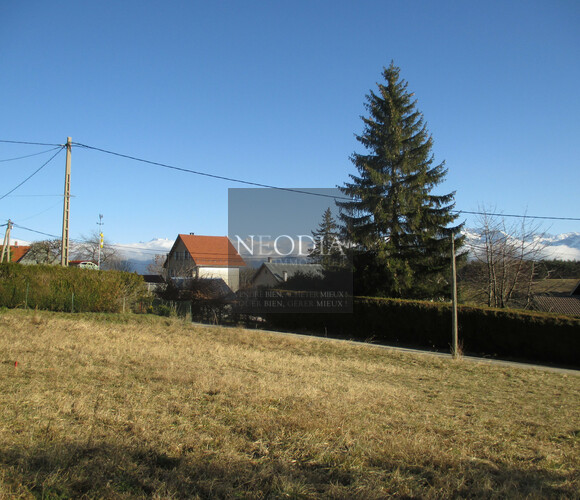 Vente Terrain 684m² Saint-Hilaire (38660) - photo