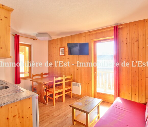 Vente Appartement 2 pièces 27m² Saint-Sorlin-d'Arves (73530) - photo