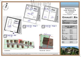 Vente Maison 3 pièces 81m² Habère-Poche - Photo 1