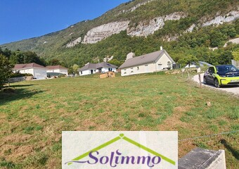 Vente Terrain 1 001m² Sainte-Marie-d'Alvey (73240) - Photo 1