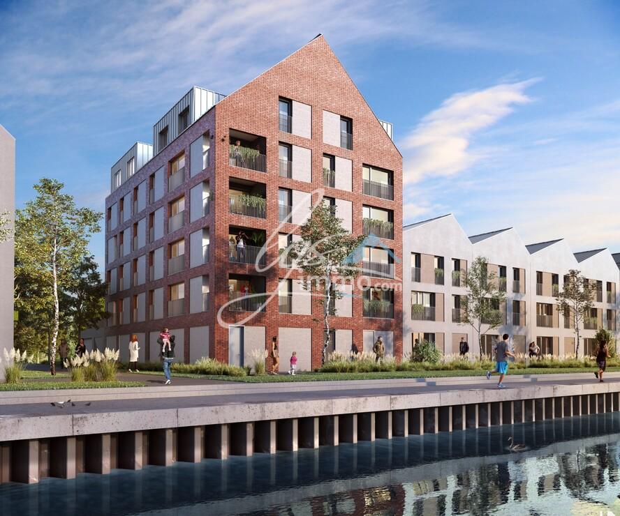 Vente Appartement 2 pièces 44m² Saint-André-lez-Lille (59350) - photo