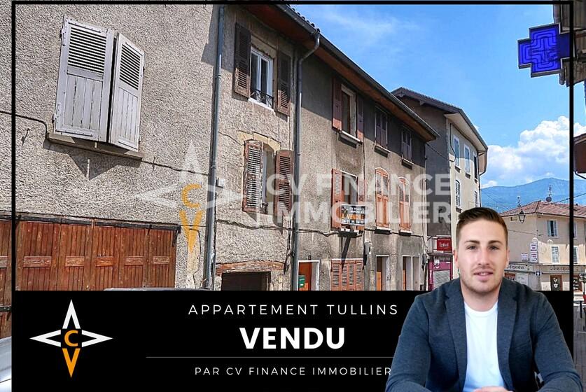 Vente Maison 3 pièces 50m² Tullins (38210) - photo