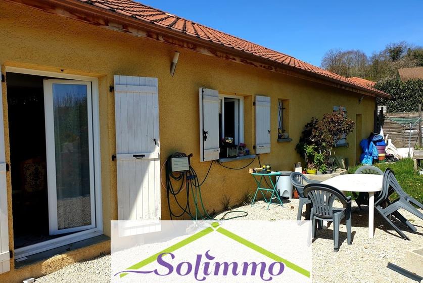 Vente Maison 5 pièces 100m² Saint-Chef (38890) - photo