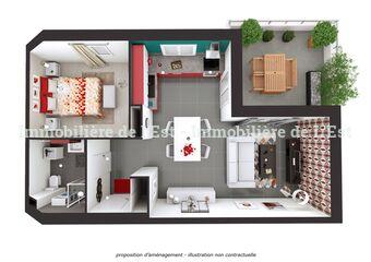 Vente Appartement 2 pièces 42m² Grésy-sur-Isère (73460) - Photo 1