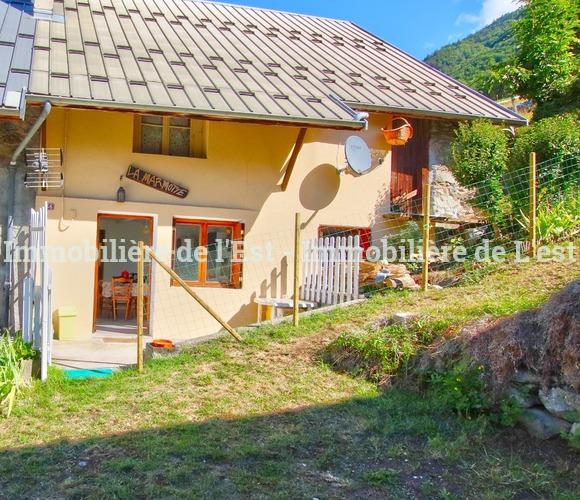 Vente Maison 2 pièces 42m² Les Chavannes-en-Maurienne (73660) - photo