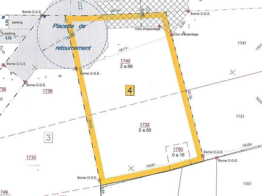 Sale Land 540m² Contamine-sur-Arve (74130) - photo