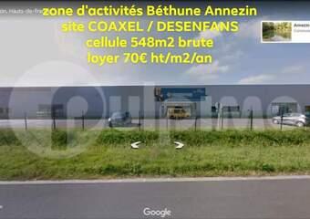 Location Local industriel 3 pièces 548m² Annezin (62232) - photo