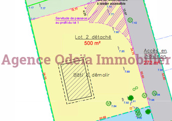 Vente Terrain 500m² Audenge (33980) - Photo 1