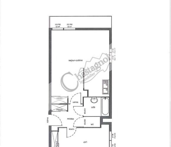Vente Appartement 2 pièces 50m² CHAMROUSSE - photo