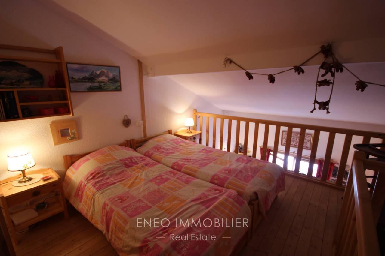 Lovely studio + mezzanine in La Plagne Montabert
