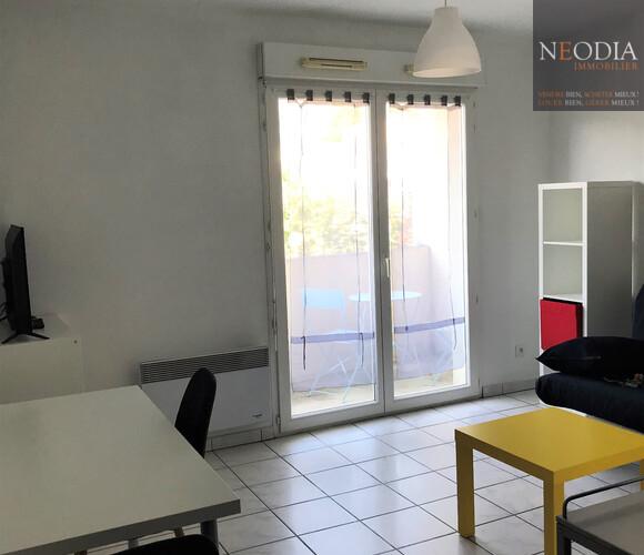 Location Appartement 1 pièce 19m² Saint-Martin-d'Hères (38400) - photo