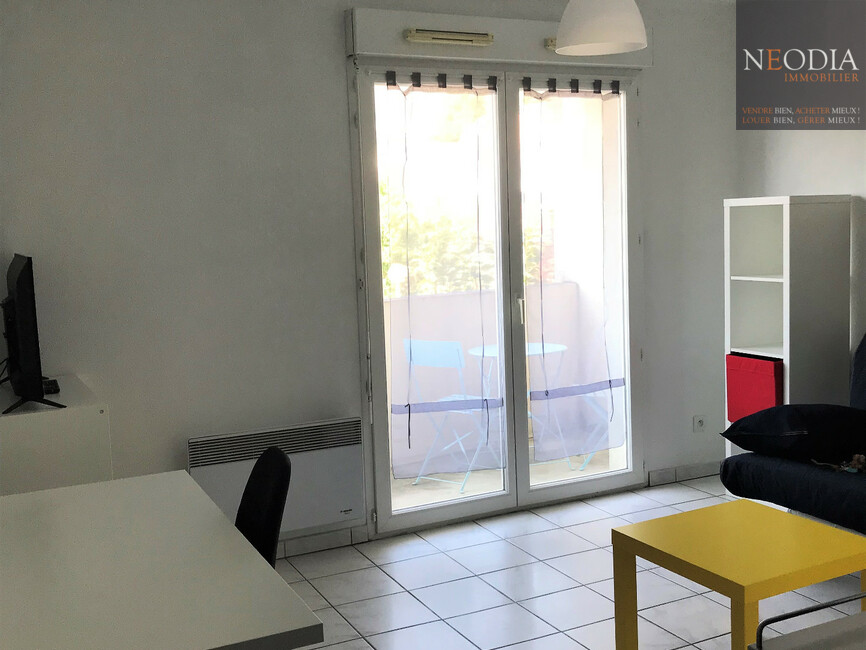 Location Appartement 1 pièce 19m² Saint-Martin-d'Hères (38400) - photo
