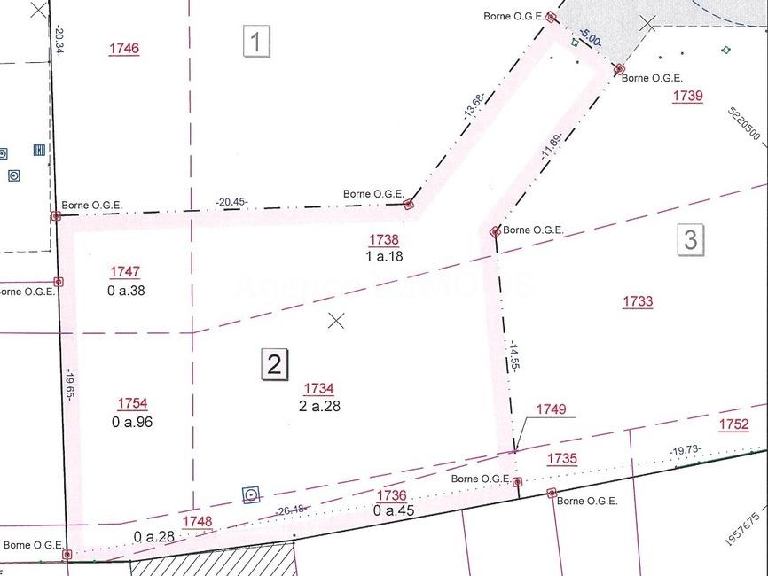 Sale Land 553m² Contamine-sur-Arve (74130) - photo