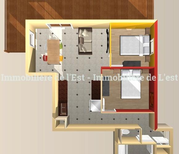 Vente Appartement 3 pièces 61m² La Chambre (73130) - photo