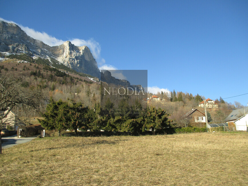 Vente Terrain 637m² Saint-Hilaire (38660) - photo
