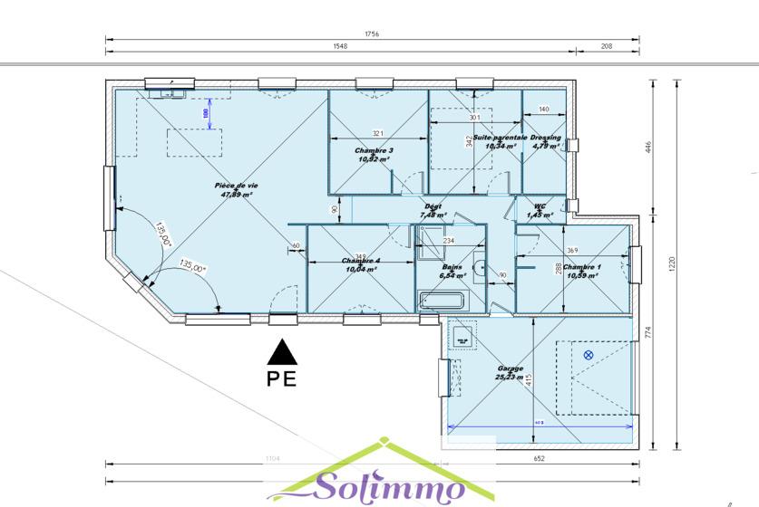 Vente Maison 5 pièces 110m² Saint-Clair-de-la-Tour (38110) - photo