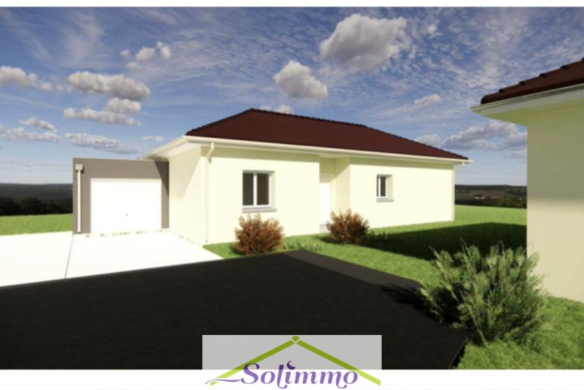 Vente Maison 4 pièces 90m² Saint-Jean-de-Soudain (38110) - photo