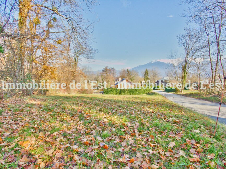 Vente Terrain 984m² Plancherine (73200) - photo