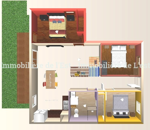 Vente Appartement 4 pièces 81m² La Chambre (73130) - photo