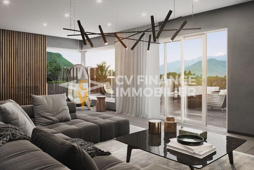 Vente Appartement 3 pièces 56m² Voiron (38500) - photo