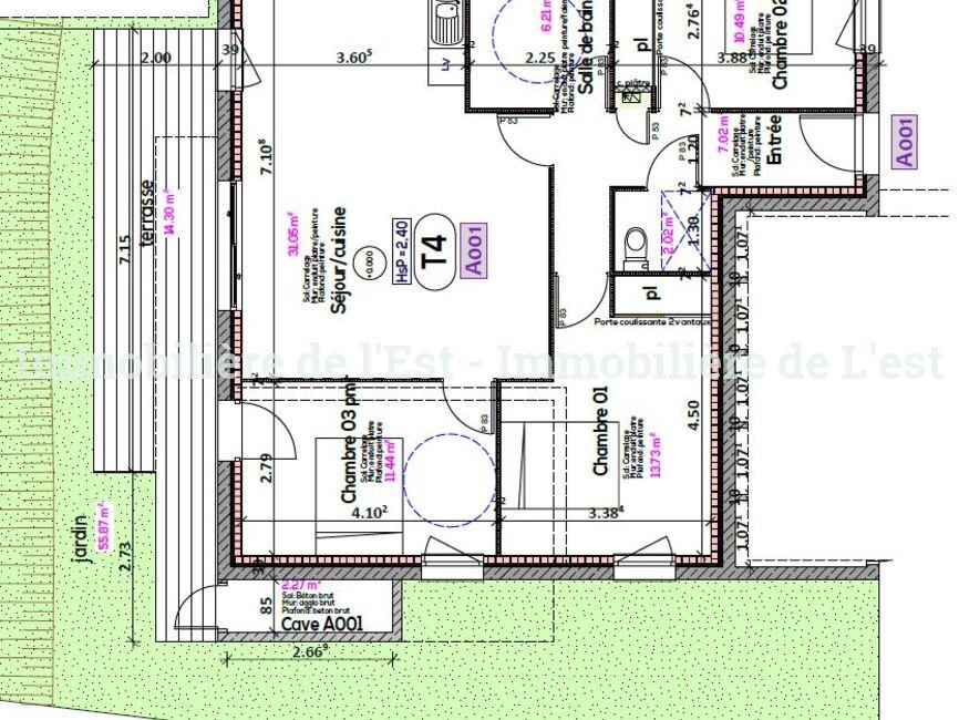 Vente Appartement 4 pièces 82m² La Chambre (73130) - photo
