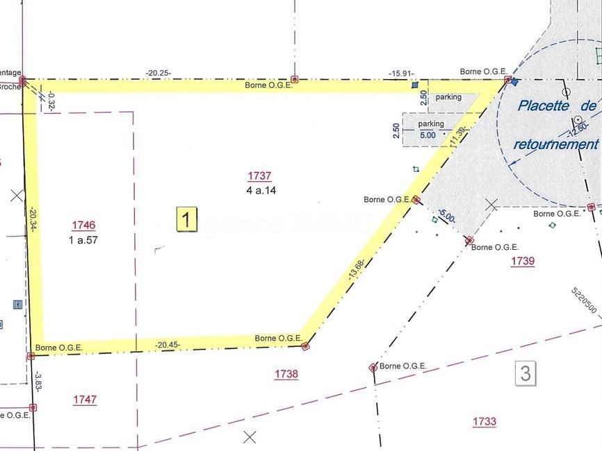 Sale Land 571m² Contamine-sur-Arve (74130) - photo