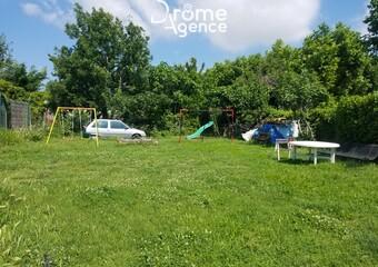 Vente Terrain 370m² Montélier (26120) - Photo 1