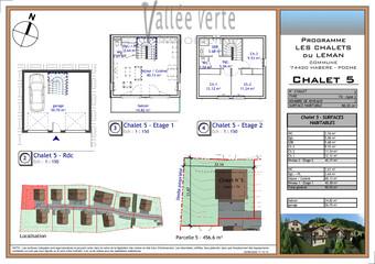 Vente Maison 4 pièces 91m² Habère-Poche - Photo 1