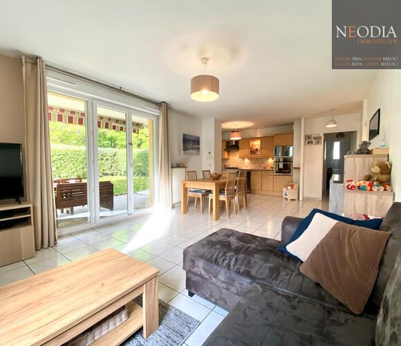 Vente Appartement 3 pièces 69m² Saint-Nazaire-les-Eymes (38330) - photo