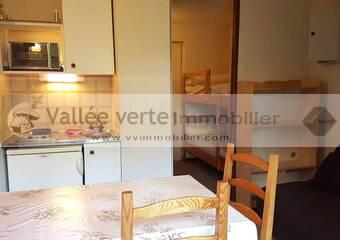 Vente Appartement 1 pièce 17m² Habère-Poche (74420) - photo