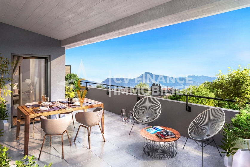 Vente Appartement 4 pièces 78m² Moirans (38430) - photo