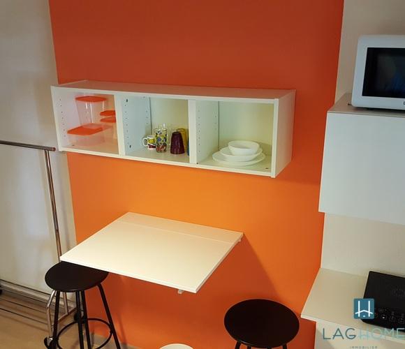 Location Appartement 1 pièce 14m² Grenoble (38100) - photo