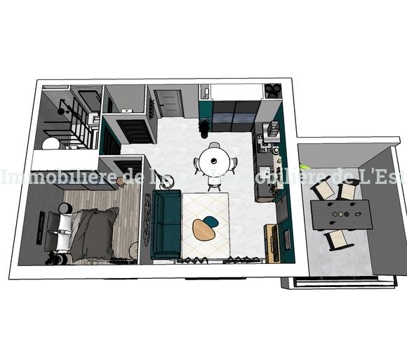 Vente Appartement 2 pièces 41m² Albertville (73200) - photo