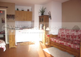 Vente Appartement 1 pièce 21m² Samoëns (74340) - photo