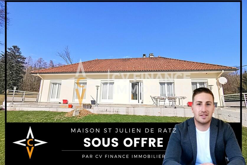Vente Maison 4 pièces 205m² Saint-Laurent-du-Pont (38380) - photo