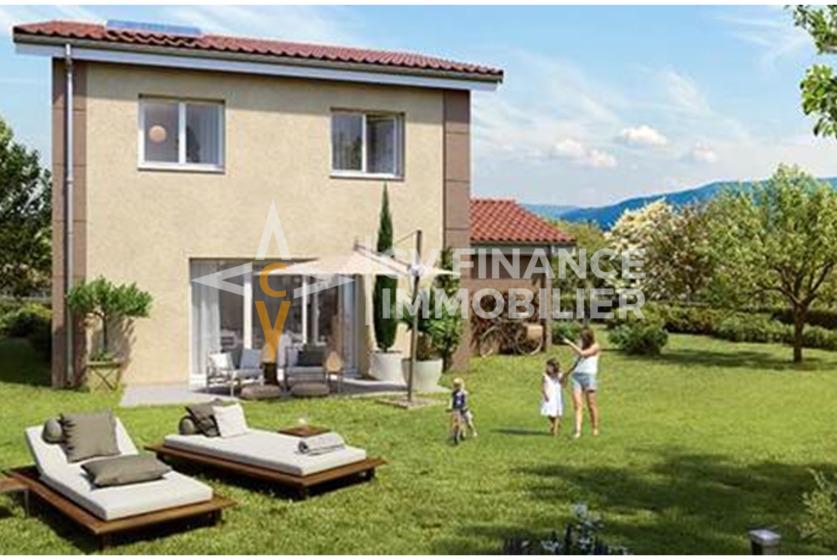 Vente Maison 4 pièces 96m² Saint-Étienne-de-Crossey (38960) - photo
