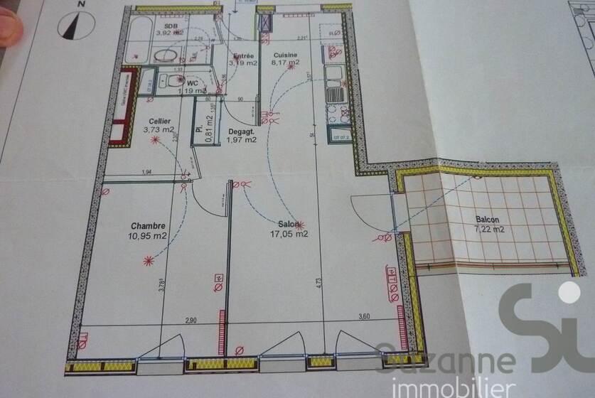 Vente Appartement 2 pièces 51m² Grenoble (38100) - photo