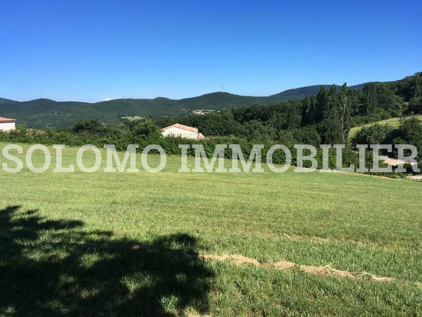 Vente Terrain 1 510m² SAINT LAGER - photo